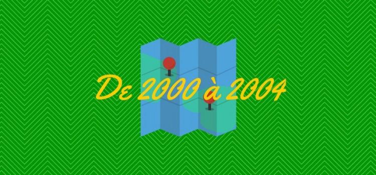 Films sur l'Amour à distance : De 2000 à 2004