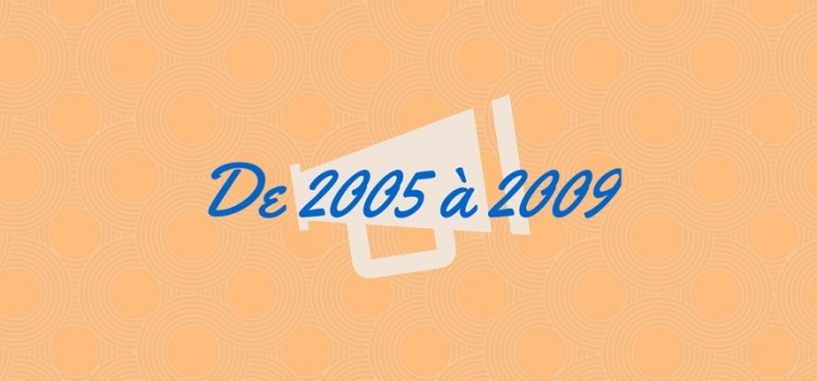 Films sur l'Amour à distance : De 2005 à 2009