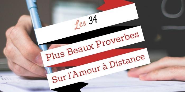 plus beaux proverbes amour a distance