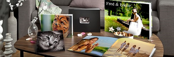 Cadeau personnalisé : livre photo