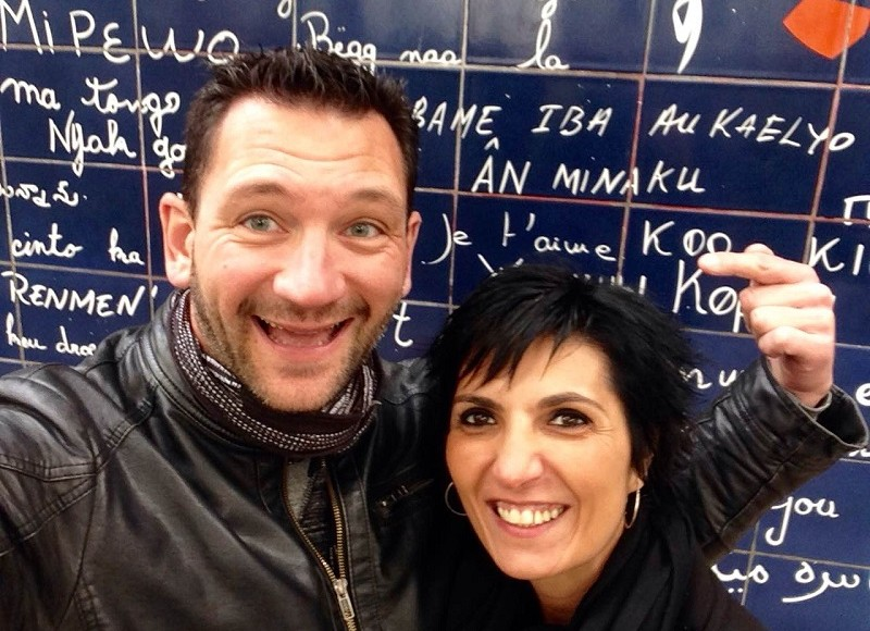 Couple franco-espagnol Guada et Cédric