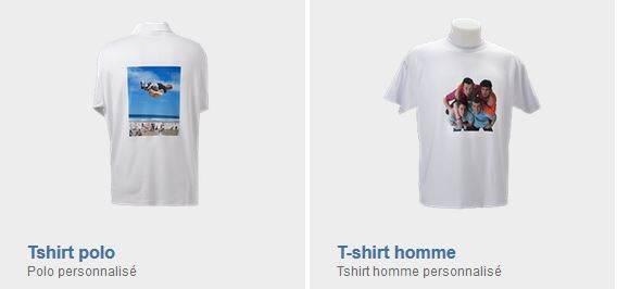 T-shirts personnalisés