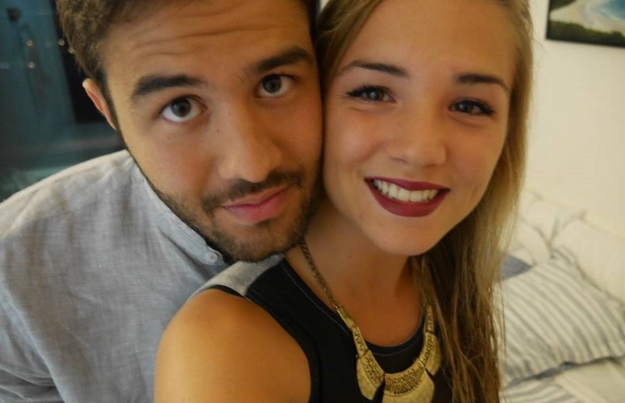 Emma et Emmanuel couple franco bresilien