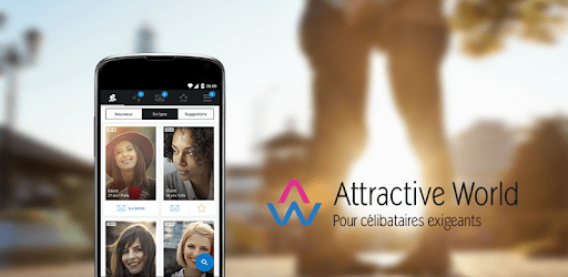 application mobile attractive world test avis