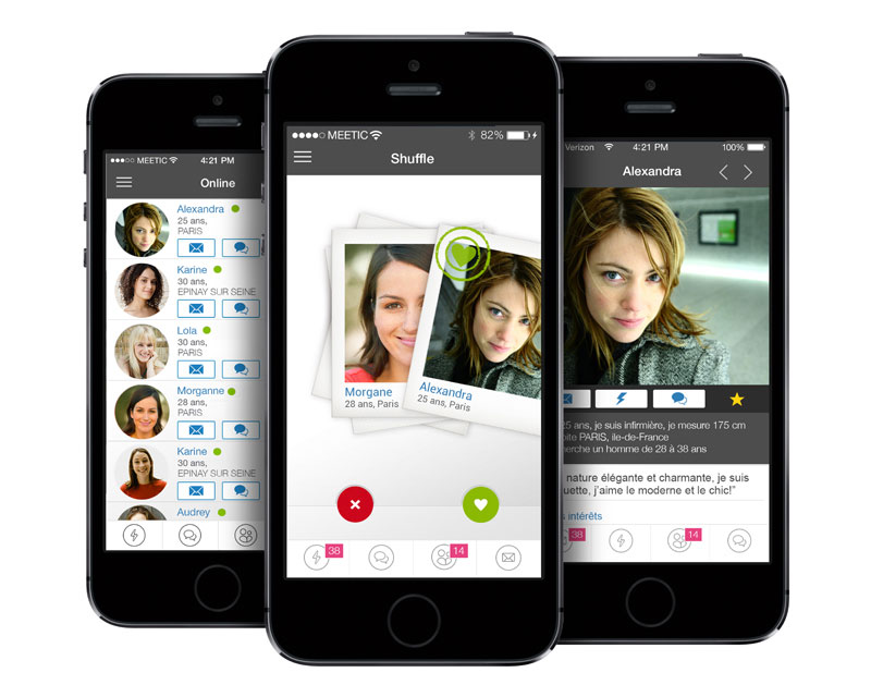 application mobile meetic test avis