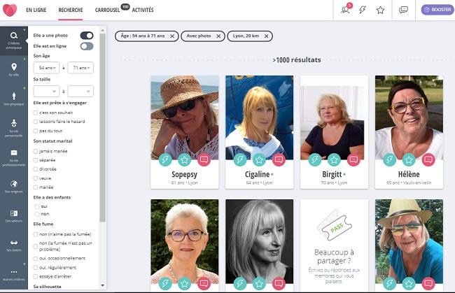 filtrer profils disonsdemain test avis